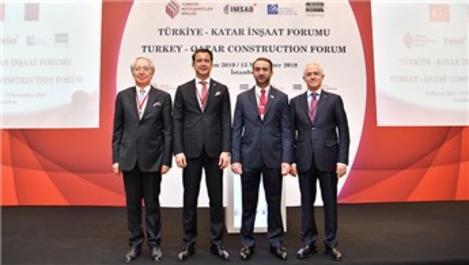 """TMB, """"Türkiye-Katar İnşaat Forumu"""" düzenledi"""