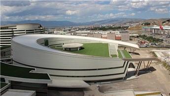 Erzurum Şehir Hastanesi'nin yüzde 98'i tamamlandı