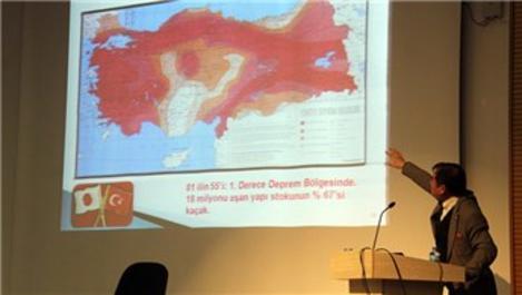 'Türkiye'nin yüzde 97'si deprem riski taşıyor'