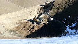 Gümüşhane'deki Dipsiz Göl, su birikintisi çıktı