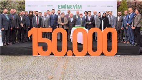 Eminevim, faizsiz sistemle 150 bininci teslimatını yaptı