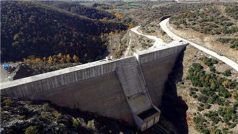 Kelebek Barajı yeni yılda su tutmaya başlayacak