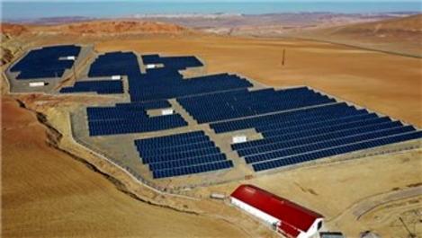 50 dönümlük enerji tarlası, Sivas'ta kuruldu