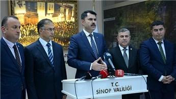 """""""Sinop'u marka şehir haline getireceğiz"""""""
