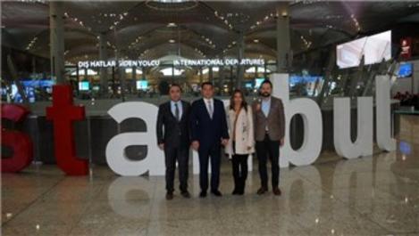 Guatemala Devlet Başkanı Morales, İstanbul Havalimanı'nı gezdi