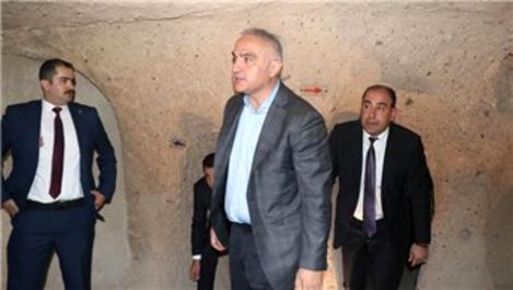 """Bakan Ersoy: 'Kapadokya Alan Başkanlığı yıkım yetkisi aldı"""""""