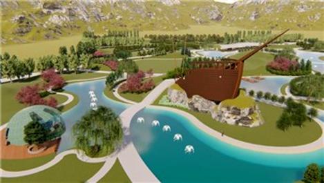 Ağrı Millet Bahçesi'nin içerisinde Nuh'un Gemisi olacak!