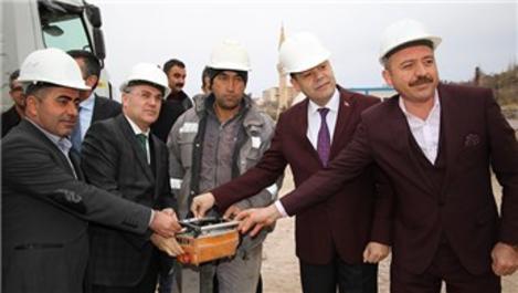 Kayseri'de yeni kentsel dönüşüm projesinin temeli atıldı