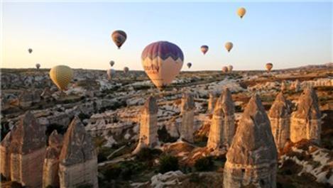 Kapadokya'daki balon turları yoğun ilgi görüyor
