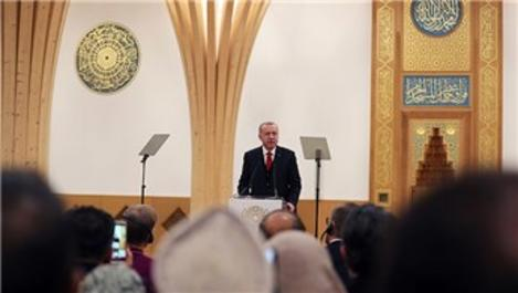 Cumhurbaşkanı Erdoğan, Cambridge Camisi'nin açılışını yaptı