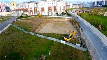 Beylikdüzü Belediyesi, bir okul inşaatına daha başladı