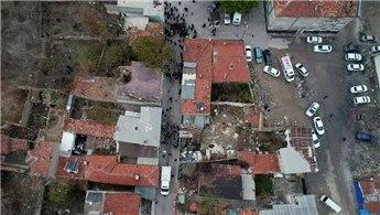 Çevre ve Şehircilik Bakanlığı, Konya'da çöken binayı inceledi!