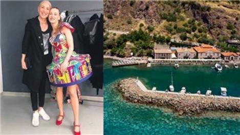 Serenay Sarıkaya, annesi için Çanakkale'de otel arıyor!