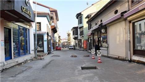 Bursa'daki Tarihi Kayhan Çarşısı yeniden ayağa kalktı