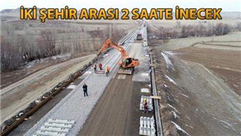 Sivas-Ankara YHT projesinde sona yaklaşıldı