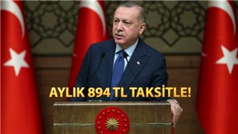 Başkan Erdoğan'dan 100 bin sosyal konut müjdesi!