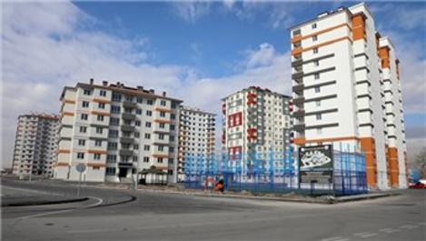 Melikgazi Belediyesi'nin yaptığı 84 daire sahiplerini bekliyor