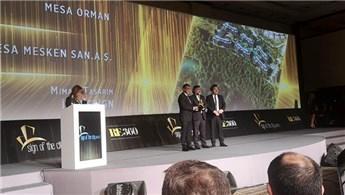 """Mesa Orman Çubuklu'ya """"En İyi Konut"""" ödülü!"""