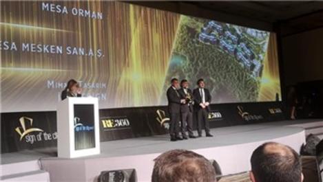 Mesa Orman Çubuklu'ya 'En İyi Konut' ödülü!