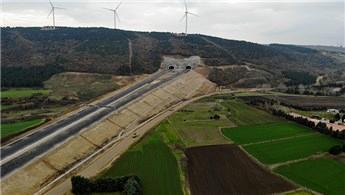 Kuzey Marmara Otoyolu'nun Çatalca bağlantısı 2020'de açılacak