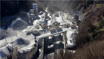 Zigana Tüneli'nin kazı çalışmaları yüzde 64 seviyesine ulaştı