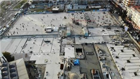 İBB'nin durdurduğu Esenler'deki projeler görüntülendi