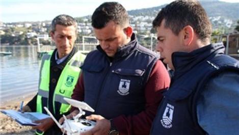 Kaçak yapılaşma ile mücadelede drone'lu denetim
