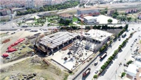 Sincan Kültür ve Kongre Merkezi'nin yüzde 20'si tamamlandı
