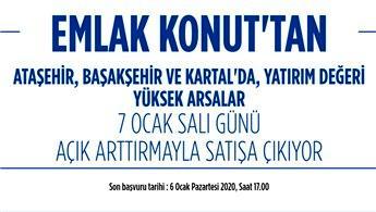 Emlak Konut, İstanbul'daki 12 arsasını satışa çıkardı!