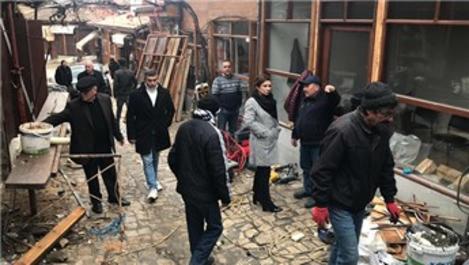 Safranbolu'da restorasyon çalışmaları sürüyor
