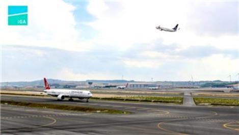 İstanbul Havalimanı'nda 'pas geçme' sayısı daha düşük