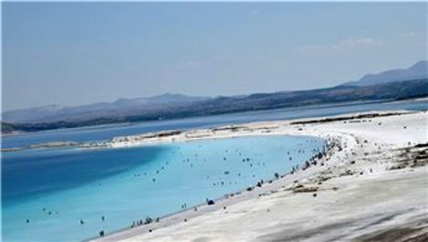 Salda Gölü'nü 2019'da 1.5 milyon turist ziyaret etti