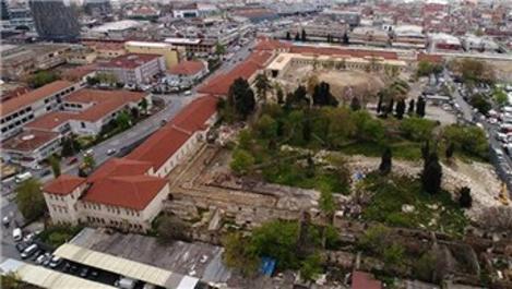 Rami Kışlası son durum! Hava görüntüsü yayında!