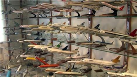 Dünyanın en büyük model uçak müzesi Florya'da!