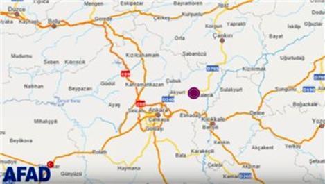 Ankara'da 3,8 büyüklüğünde deprem!