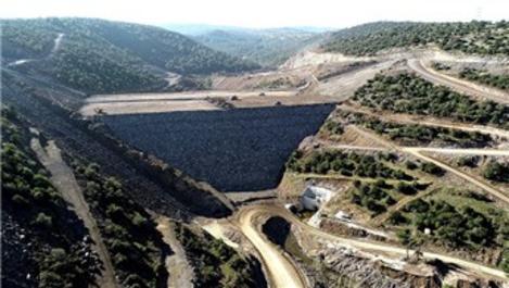 İzmir'deki Musacalı Barajı'nın yarısı tamamlandı