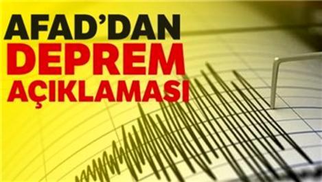 """""""Depremler farklı fay segmentleri üzerinde meydana gelmiştir"""""""