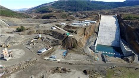3 şehre hizmet verecek Araç Barajı tamamlanıyor