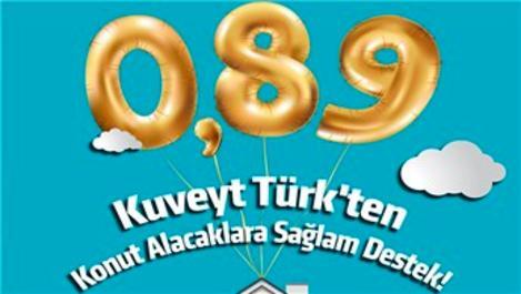 Kuveyt Türk konutta kâr oranını yüzde 0,89'a düşürdü