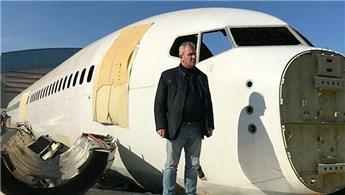 Pistten çıkan uçağı restoran yapmak istiyor