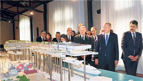 Cumhurbaşkanı Erdoğan, Galataport'u yerinde inceledi