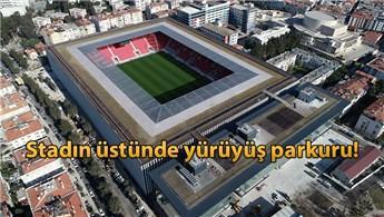 Göztepe'nin yeni stadyumu kapılarını açıyor