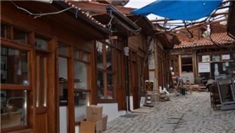 Safranbolu'daki tarihi dükkanlar restorasyonla gün yüzüne çıktı