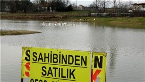Başakşehir'de 2 milyon TL'ye sahibinden satılık göl!