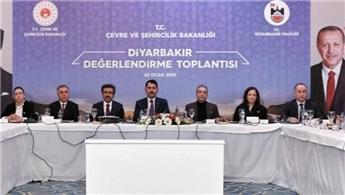 Bakan Kurum, Diyarbakır Değerlendirme Toplantısı'na katıldı