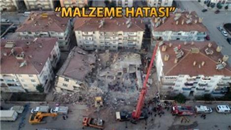Elazığ'da yıkılan binaların nedeni 'dere kumu' mu?