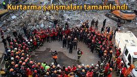 AFAD: Depremde 41 kişi hayatını kaybetti, 45 kişi sağ kurtarıldı