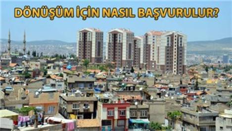 Türkiye genelinde 8 yılda 515 bin bina dönüştü