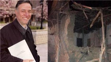 Elazığ depreminde Kemal Sunal'ın doğduğu ev yıkıldı
