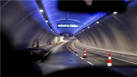 Avrasya Tüneli'ne 1 Şubat gece 00.00 itibarıyla zam
